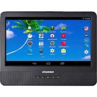 """Sylvania 9""""SLTDVD9220 2-in-1 Portable DVD Player& Android Wi-Fi Tablet  Manufacturer Refurbished"""