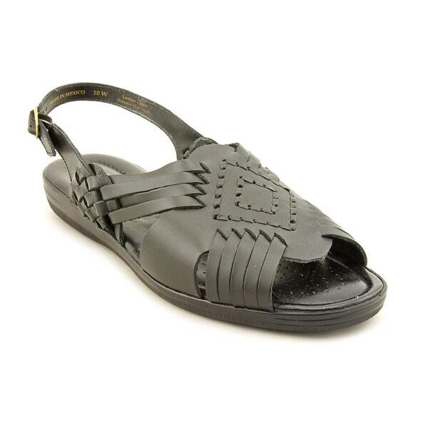 Softspots Tela Women Black Sandals