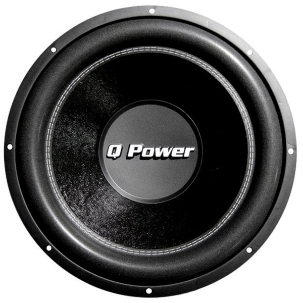 Q Power Deluxe Flat Subwoofer