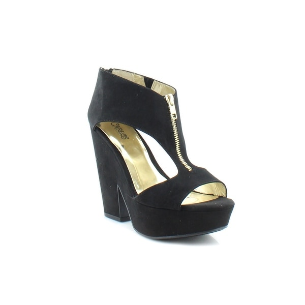 Carlos Santana Blaine Women's Sandals & Flip Flops Black