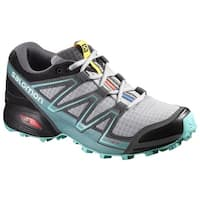 Salomon Women's Speedcross Vario, Light Onix/Black/Bubble Blue