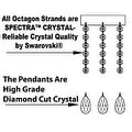 Swarovski Elements Crystal Trimmed Authentic Chandelier Lighting - Thumbnail 1