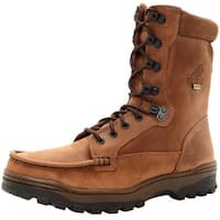 """Rocky Outdoor Boots Mens 8"""" Outback WP Hiker Light Brown"""