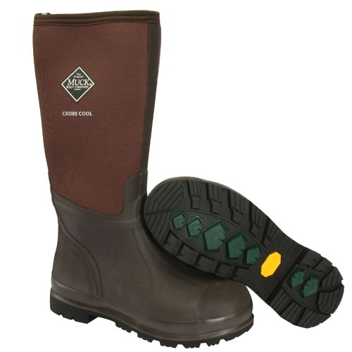 Muck Boot's Mens Chore Cool Hi Boots - Size 10