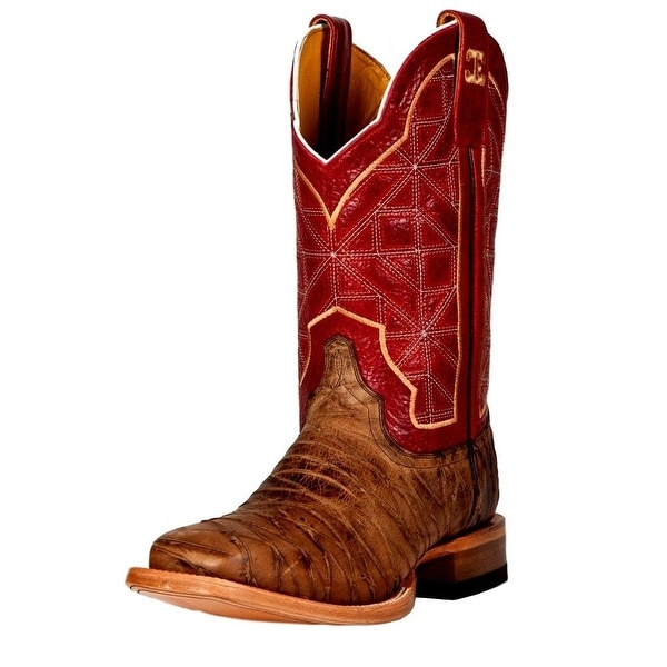 Cinch Western Boots Womens Leather Cowboy Rio Brown Red
