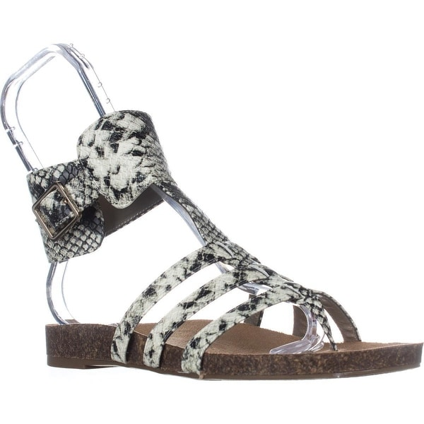 Circus by Sam Edelman Katie Ankle Strap Flat Sandals, Cashmere