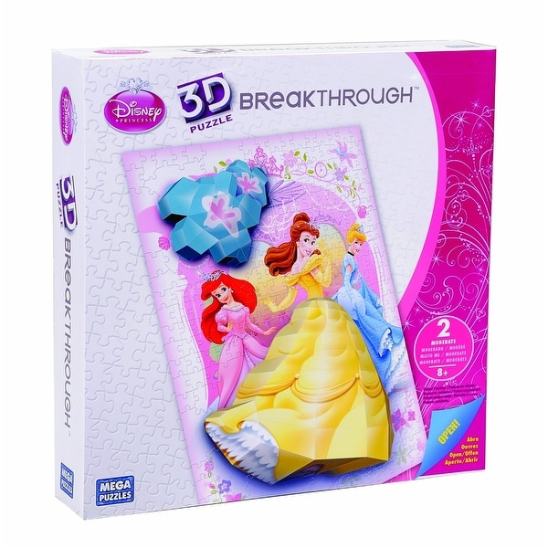 Breakthrough Level Two Disney Princess Puzzle