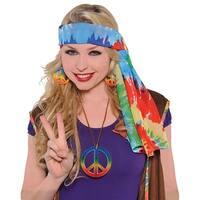 Hippie Headscarf Adult Costume