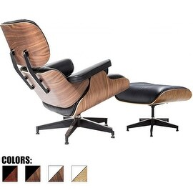 Beatnik Oxford Tan Leather Chair 15834310 Overstock