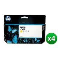HP 727 130-ml Yellow DesignJet Ink Cartridge (B3P21A) (4-Pack)