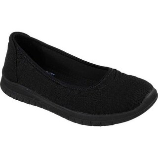 Skechers Women's BOBS Pureflex 3 Catch Em Skimmer Black
