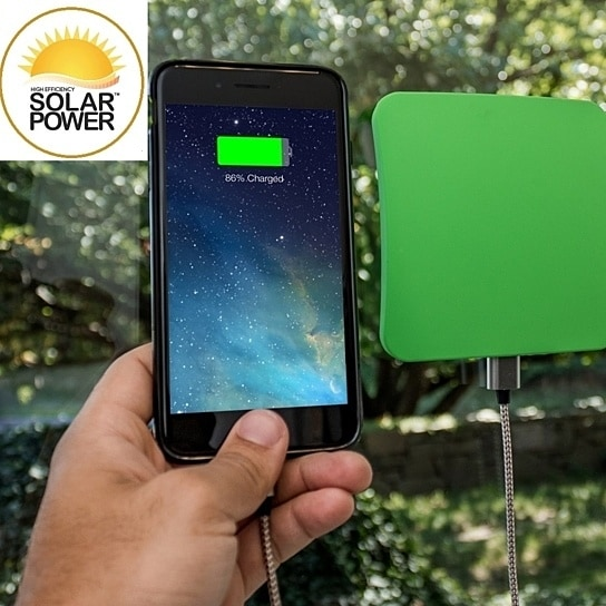 Touch Of ECO Solar Window Charger for Smart Phones & Tablets