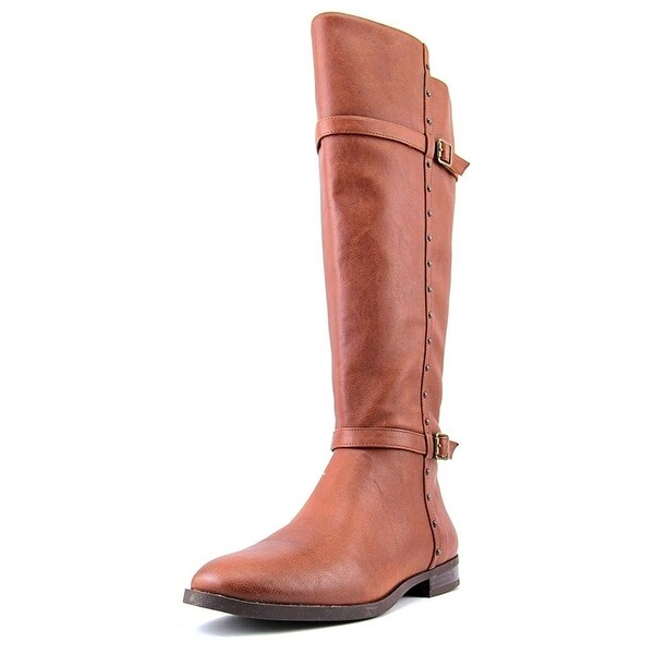 INC International Concepts Womens Ameliee 2 Leather Closed Toe Knee High Fash...