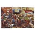 ''Change for a Dollar (mini)'' by Frank Morrison Sports/Games Art Print (8.875 x 13.5 in.) - Thumbnail 0