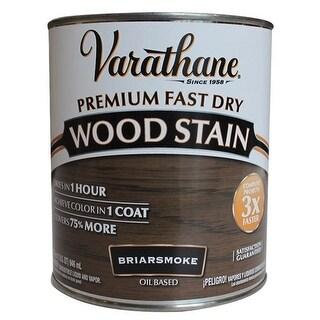 Varathane 313608 Premium Fast Dry Wood Stain, Briarsmoke, 1 Quart