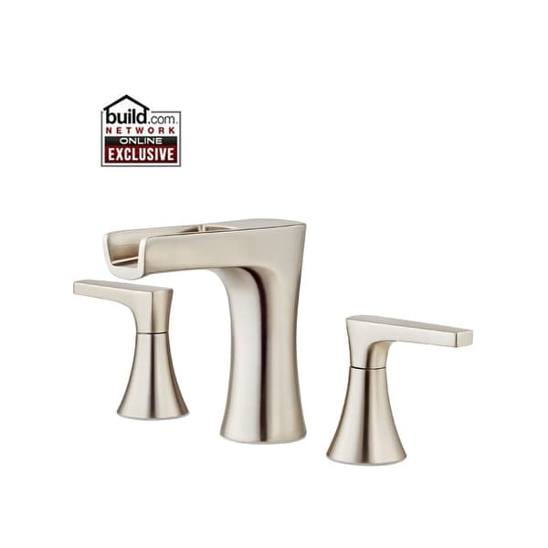 Pfister LG49MF1 Kelen Widespread Bathroom Faucet with Waterfall Spout