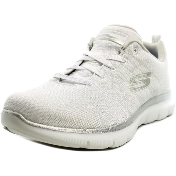 Skechers Flex Appeal 2.0 Opening Night Women Synthetic White Running Shoe