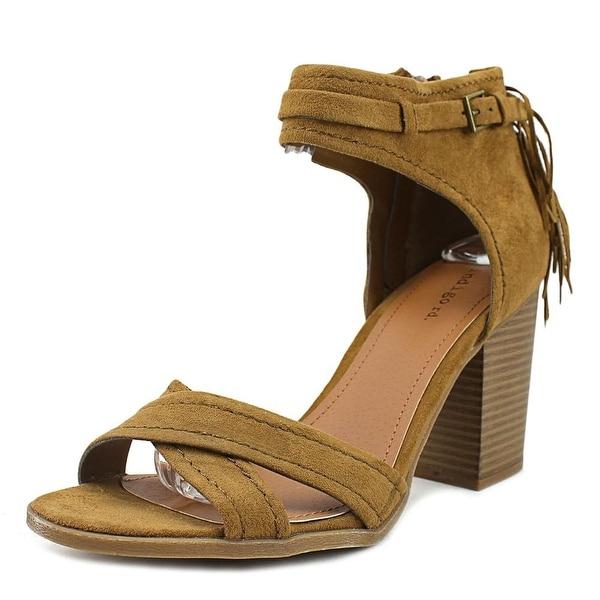 Indigo Rd. Parissa Women Open Toe Synthetic Brown Sandals