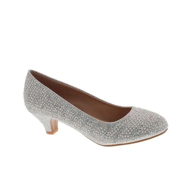 Static Fashion Womens Kora-1 Low Heel Dress Stunning Dress Pumps Shoes