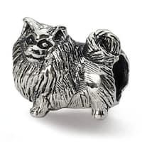 Sterling Silver Reflections Pomeranian Bead (4mm Diameter Hole)