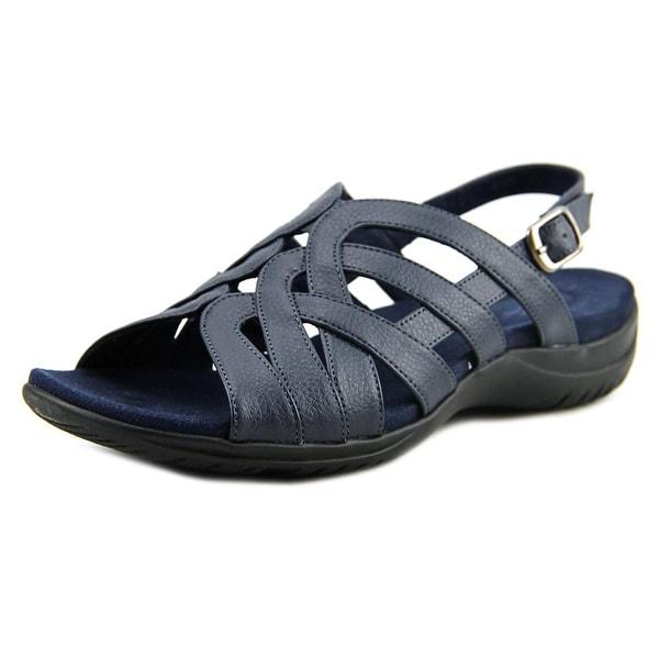 Easy Street Visage N/S Open-Toe Leather Slingback Sandal