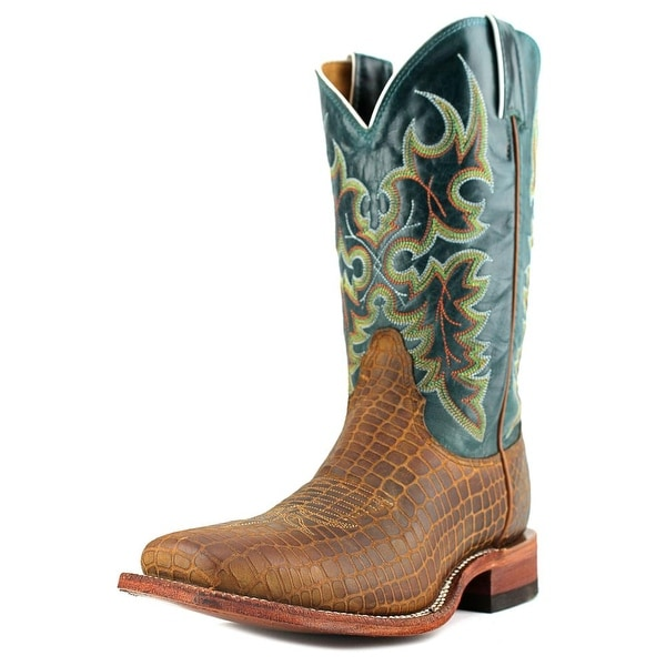 Nocona LD2743 B Square Toe Leather Western Boot