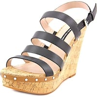 French Connection Womens Deon Open Toe Casual Platform Sandals