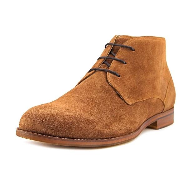 Aldo Adoima Men Round Toe Suede Brown Chukka Boot