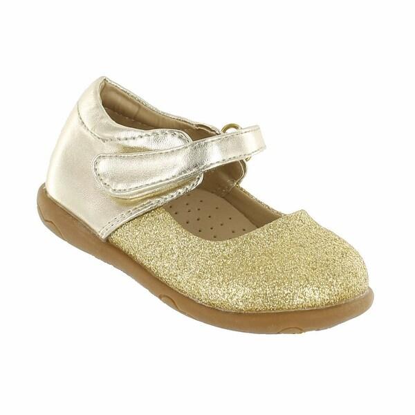 Cookie Smoochie 'Lola' Glitter Two Tone Mary Jane Flat