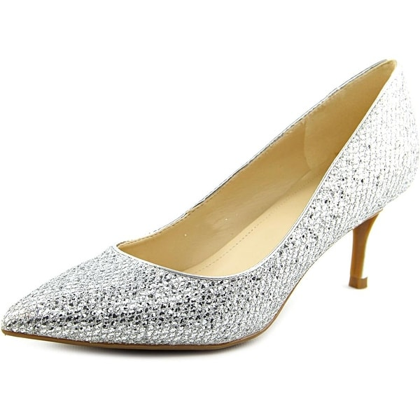 Marc Fisher Milee Women Silver Pumps
