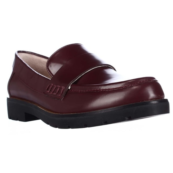 kate Spade Karry Almond-Toe Casual Loafers, Wine