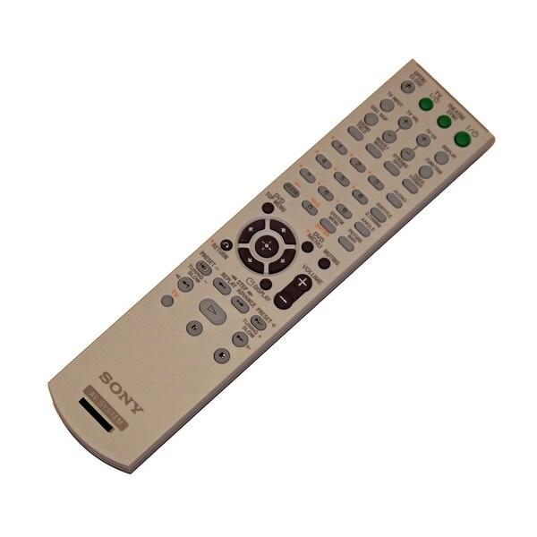 OEM Sony Remote Control Originally Supplied With: DAVHDZ235, HCDHDX265, HCDHDX266, HCDHDX267W, HCDHDX465, HCDHDX466