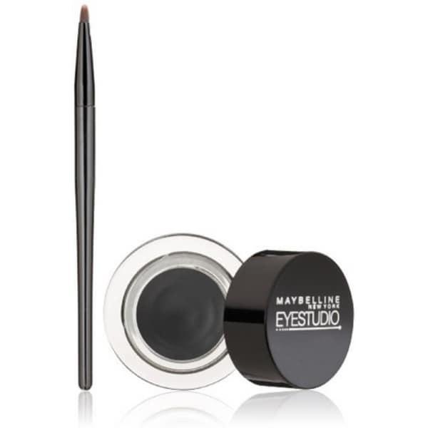 Maybelline New York Eye Studio Lasting Drama Gel Eyeliner, Blackest Black [950], 0.106 oz ...