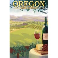 OR - Wine Country - LP Artwork (100% Cotton Towel Absorbent)