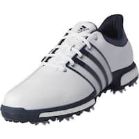 Adidas Men's Tour 360 Boost White/Dark Slate Golf Shoes Q44822/Q44830