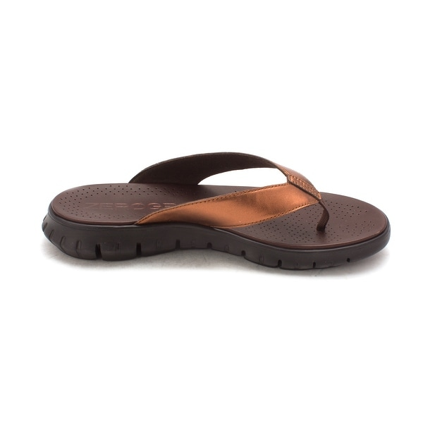Cole Haan Womens Karolasam Open Toe Casual T-Strap Sandals - 6