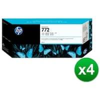 HP 772 300-ml Light Gray DesignJet Ink Cartridge (CN634A)(4-Pack)