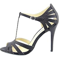 Betsey Johnson Womens TEE Open Toe T-Strap D-orsay Pumps