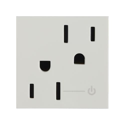 Legrand ARCH152W10 Adorne Half Controlled Outlet