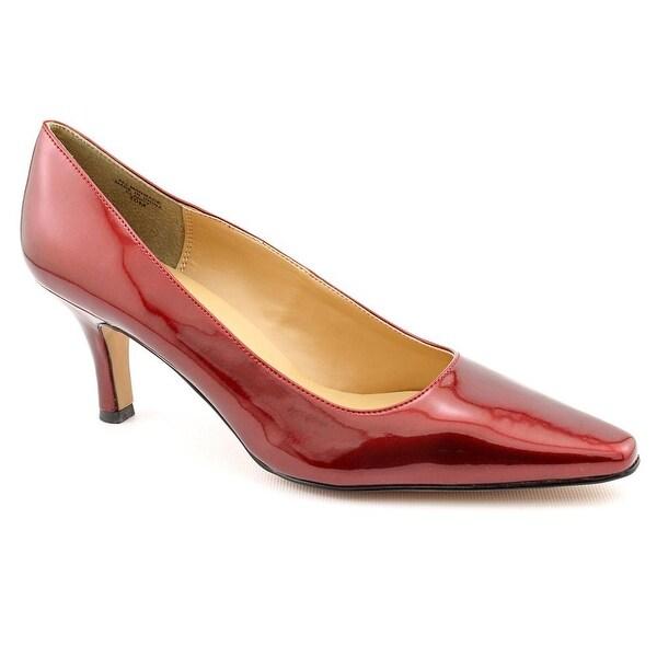 Karen Scott Clancy Women Pointed Toe Synthetic Red Heels