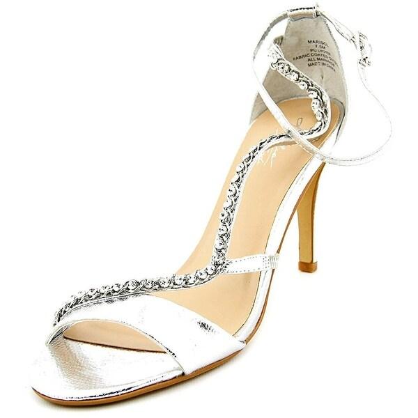 Thalia Sodi Womens MARISOL Fabric Open Toe Ankle Strap Classic Pumps