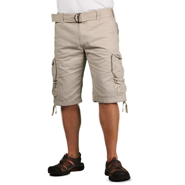 Gray Earth Young Men's Classic Cargo Shorts