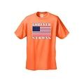 Men's T-Shirt USA Flag American Pride Stars & Stripes Old Glory Vet Tee Patriotic - Thumbnail 2