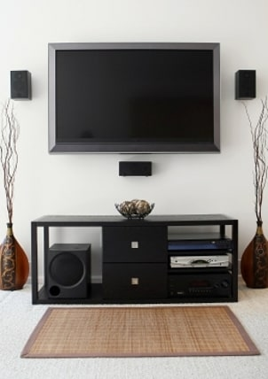 how to wall mount a flat panel tv. Black Bedroom Furniture Sets. Home Design Ideas