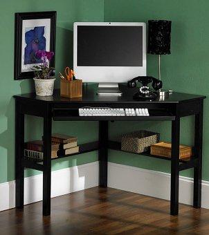 Corner desks for small spaces framed art prints cheap - Best desks for small spaces ...