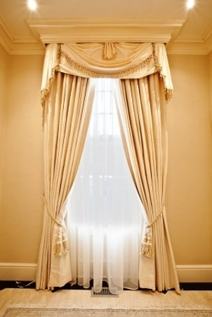 How To Hang A Valance And Curtains Overstock
