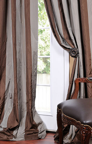 How to choose living room draperies overstock - How to pick curtains for living room ...
