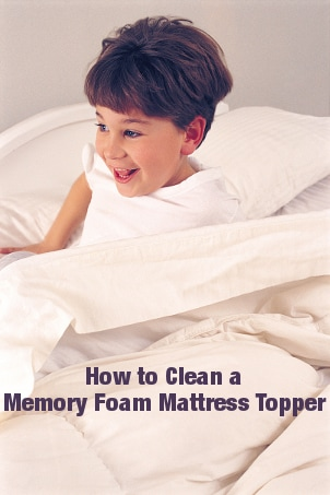how to clean a memory foam mattress topper. Black Bedroom Furniture Sets. Home Design Ideas