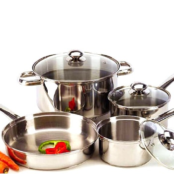 how to season stainless steel pans. Black Bedroom Furniture Sets. Home Design Ideas