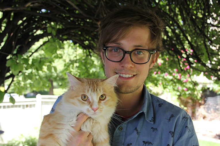 adopted cat elsa